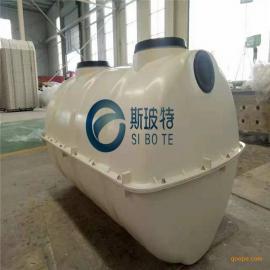1立方三格式斯玻特小型玻璃钢SMC模压化粪池桶槽基本原理