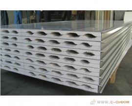 50mm机制中空玻镁板 厂房中空玻镁板