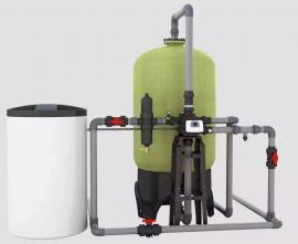 软化水设备2吨每小时酒店洗浴软化水设备