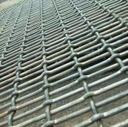 养猪场钢丝轧花网 猪床网 漏粪新式热镀锌网排单加工中