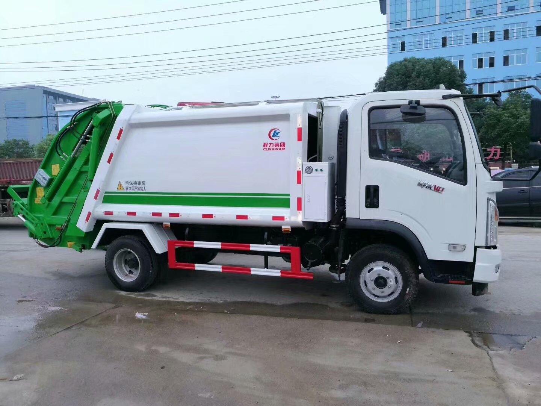 3.5方压缩式垃圾车,摆臂式垃圾车,挂桶式垃圾车