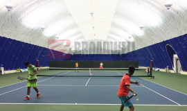 充气膜羽毛球场-充气膜体育馆多少钱-网球气膜体育馆造价-博德维
