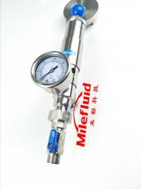 卫生级316不锈钢手动调节减压阀,灌顶组件件手动调节减压阀型号
