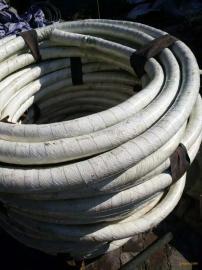 鸿峰DN108mm天然橡胶帘子线增强层10mm厚通水水冷电缆胶管