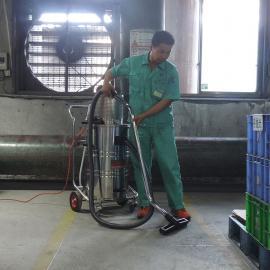 油漆车间80L气动真空工业吸尘器AIR-800EX易燃易爆粉尘吸尘器
