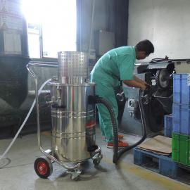 用中央气源工业吸尘器洁乐美AIR-800EX气动防爆化工专业吸尘器