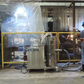 7.5KW三相电工业吸尘器大型车间吸铁屑铝屑铁渣专用吸尘器380V