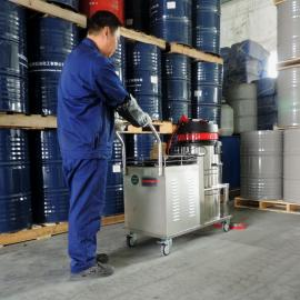 80L电瓶工业吸尘器充电式大功率吸尘器工厂车间无线电瓶吸尘器