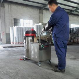 工业电瓶吸尘器 1500W充电式吸尘机 移动式无线工厂车间吸尘器