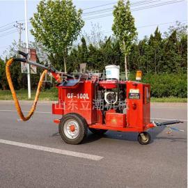 马路灌缝机沥青灌缝机出料均匀轻松快速施工视频