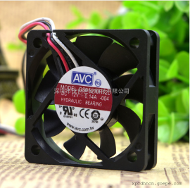 全新 AVC 5CM 5010 12V 0.14A DS05010R12L CPU 静音散热风扇