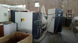 焊接车间处理烟尘粉尘用威德尔工业除尘器大风量