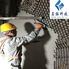 龟甲网防磨胶泥 除尘器管道陶瓷耐磨料