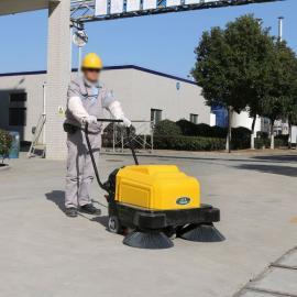 工厂车间吸尘扫地车电动清扫机家具厂木屑灰尘扫地机KM1050S