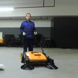 洁乐美手推式扫地机40L工厂物业车库厂区院落道路无动力扫地机