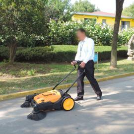 物业小区手推式扫地机街道环卫树叶养殖场用无动力清扫车工厂