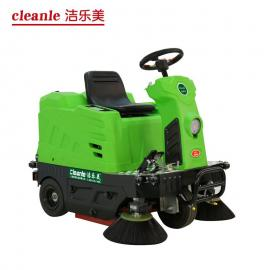 驾驶式扫地车洁乐美扫地机KM-V1工厂物业停车场小型垃圾清扫车