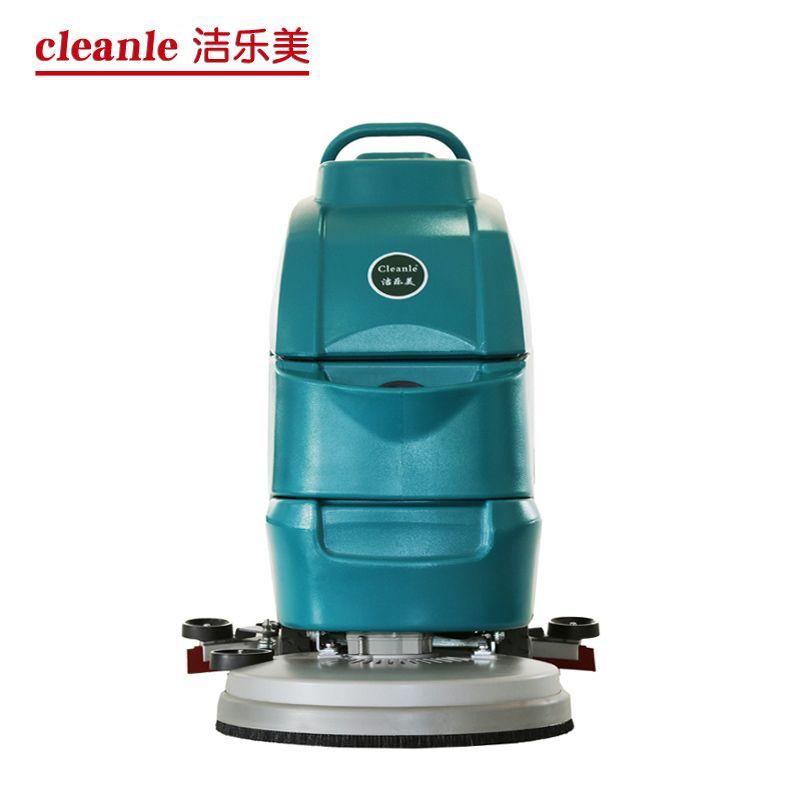 洁乐美YSD-A3电瓶手推式洗地机工业车间环氧地坪灰尘清扫拖地机