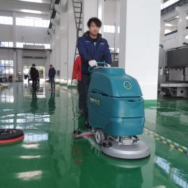 手推式洗地机电瓶式工业超市YSD-A3拖地机地坪漆清扫吸干机