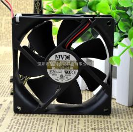 正品AVC 9025 9CM/厘米 D9025B12M 12V 0.3A 2线静音散热风扇