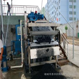 洗沙污泥处理带式压滤机 全自动能耗低带式压滤机