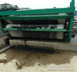 中药材洗涤污泥处理带式压滤机 高效脱水污泥带式压滤机