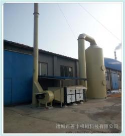 砖厂砖窑废气净化塔 耐酸碱高效脱硫塔