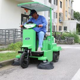 洁乐美小区物业扫地车清扫车电动扫地车驾驶式道路清扫车