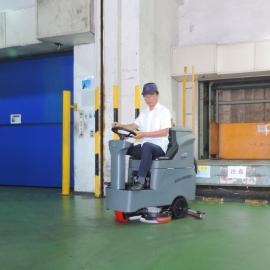 高美GM-MINI小型双刷式洗地机虹口商场清扫车保洁用