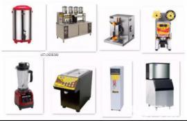 奶茶店的设备 水吧机器清单