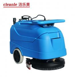 洁乐美YSD420手推式小型洗地机静音型电线式洗地机