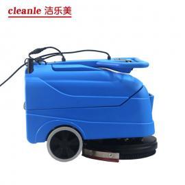 电线式洗地机小型折叠式工厂用清洗吸干机洁乐美YSD-420