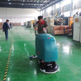 工业洗地机 环氧地坪漆清扫机 工厂车间清洗地面用电动洗地机