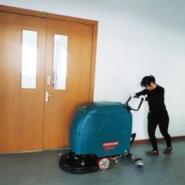食品厂车间洗地机器手推式拖地机工业洗地机擦地机YSD-530B
