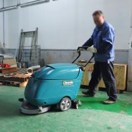 驶式洗地机工厂车间环氧地坪清洗机电瓶式洗地拖地洁乐美YSD-430