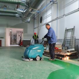 手推式洗地机矿场金刚耐磨地坪清洗除污机洗地机洗吸一体机
