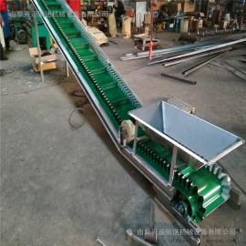 化工用耐高温耐磨电动升降皮带输送机