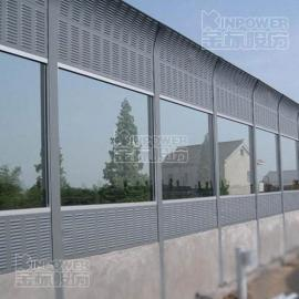 动车隔音墙隔音材料之百叶孔隔音墙应用