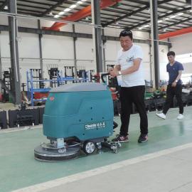 洁乐美手推式大刷盘自走式电瓶洗地机工厂车间环氧地坪瓷砖PVC用