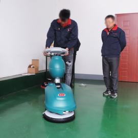 家用充电式小型洗地机地板拖地机吸水机商用写字楼电动洗地机
