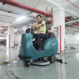 大型驾驶式全自动洗地机拖地机仓工业洗地机地面清洁洗地吸干机