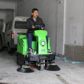 工厂扫地车座驾式物业路面清扫车中小型驾驶式库房扫地机