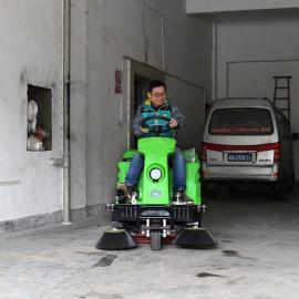 驾驶式垃圾清扫车 全自动小型电动学校清洁马路树叶扫地机