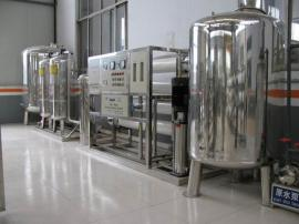 2吨每小时工业蒸馏水设备