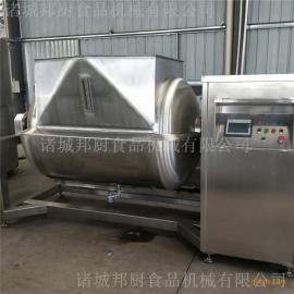 电磁横轴搅拌炒锅-卧式搅拌锅加工设备