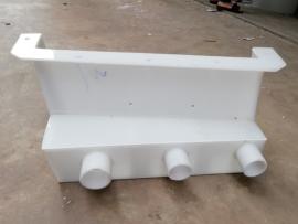 塑料螺旋溜槽 pp选煤溜槽加工定制