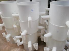 泽州选矿设备 陵川PP螺旋溜槽 阳城塑料螺旋溜槽 沁水选煤溜槽