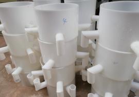 文水选矿设备 中阳PP螺旋溜槽 兴县塑料螺旋溜槽 临县选煤溜槽