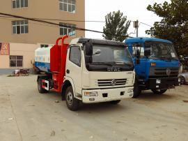 东风大多利卡国六挂桶垃圾车