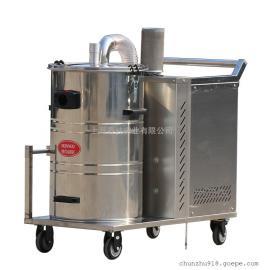 涡轮电机强力工业吸尘器真空吸尘器3000W吸颗�:冈�木屑铁屑用